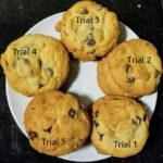 chocolate chip cookies recipe test!