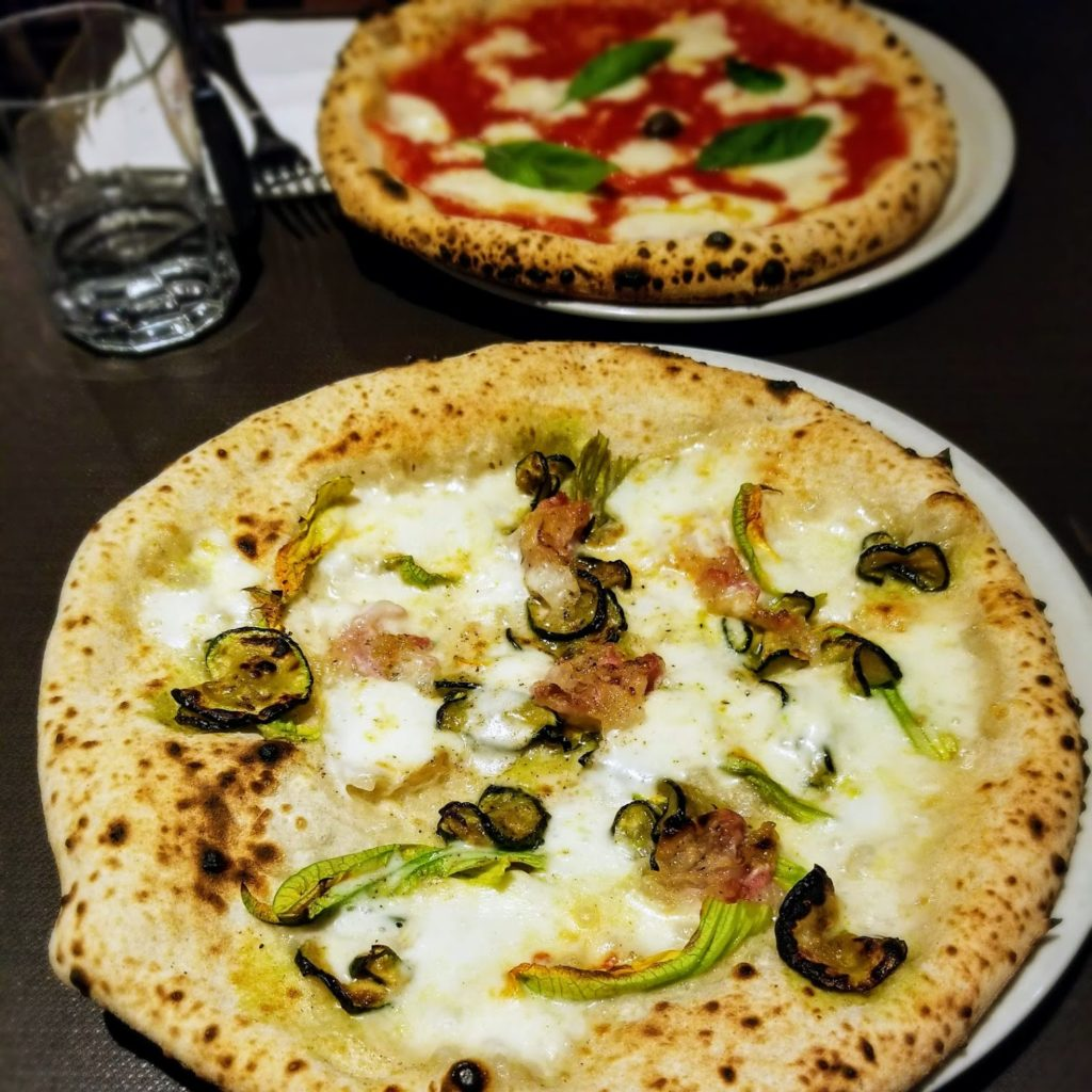 pizzas at dry milano