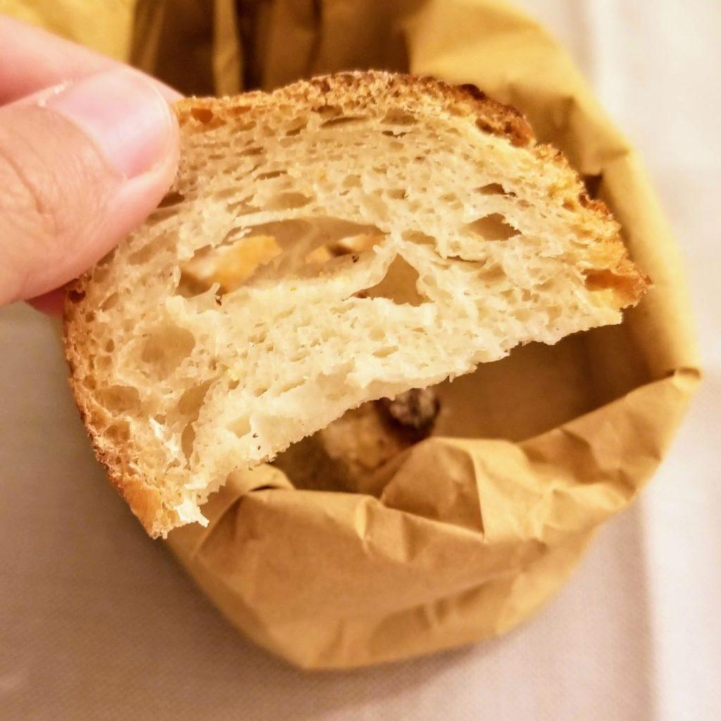 bread basket at trattoria da me, bologna