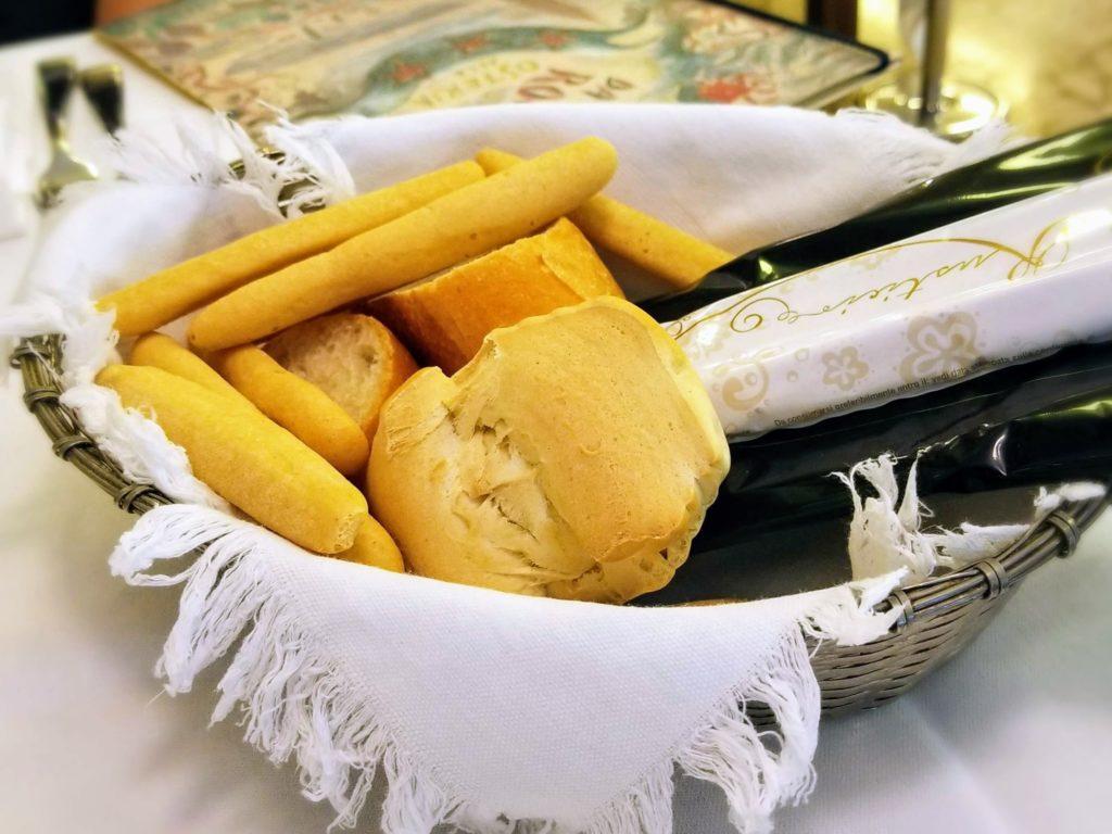 trattoria da romano venice bread basket
