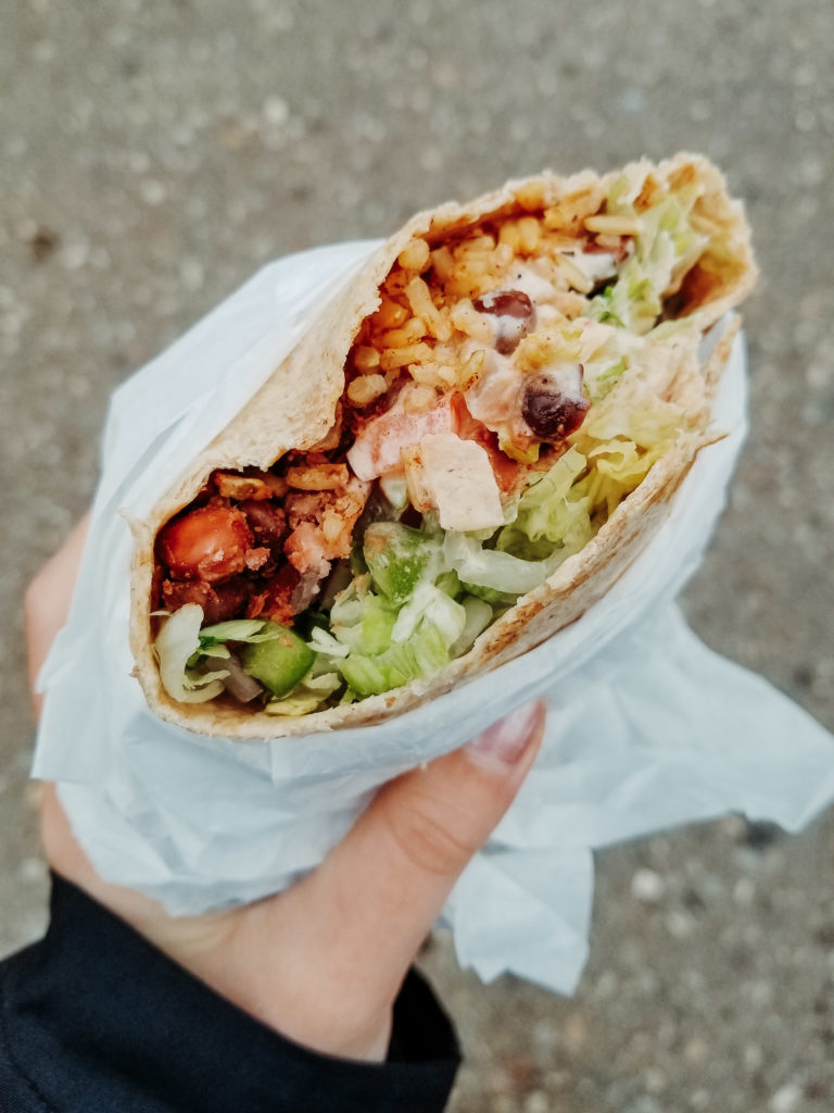 burrito from uwaterloo food services nrb / cmh