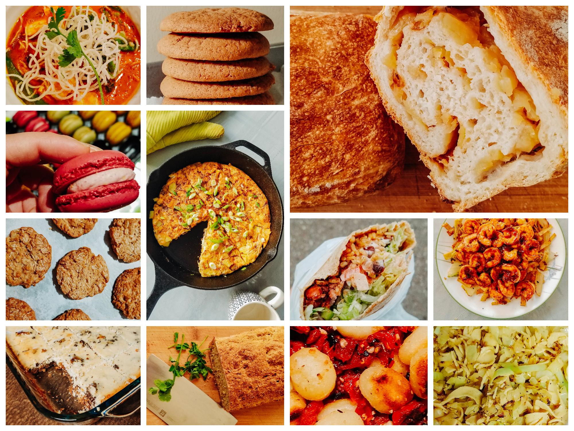My Food Diary + Cucumber Bread Recipe