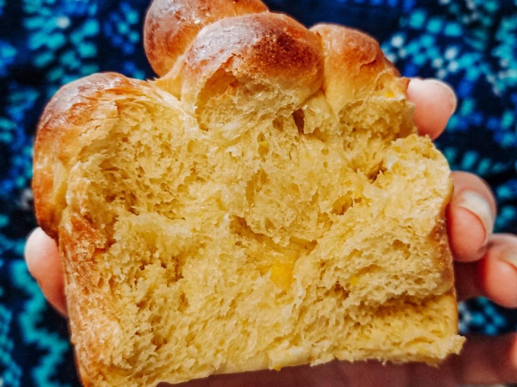 baked paska eastern european easter bread