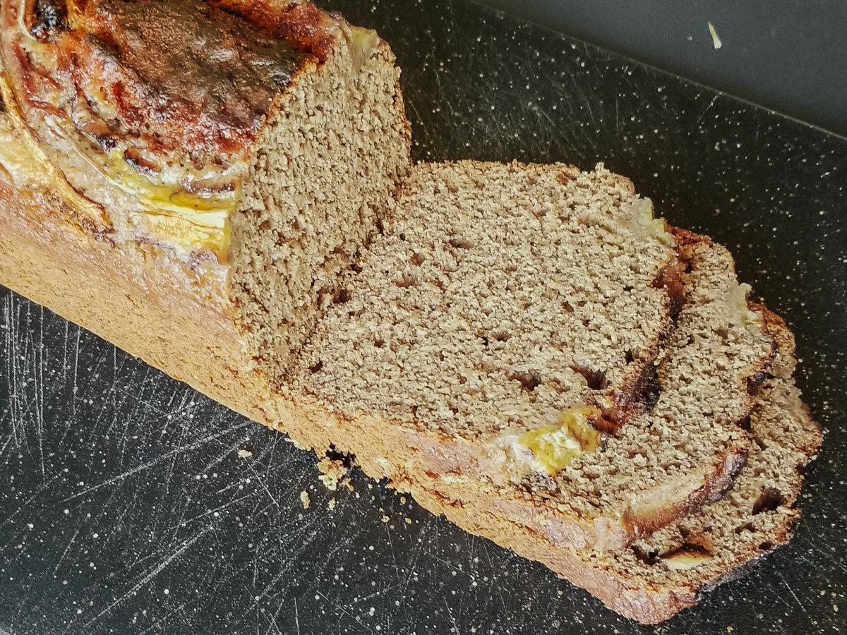 rye flour banana bread