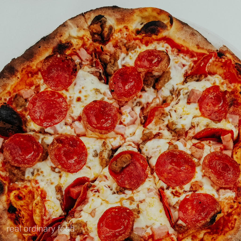 meat lover pizza from antica pizzeria & ristorante niagara falls