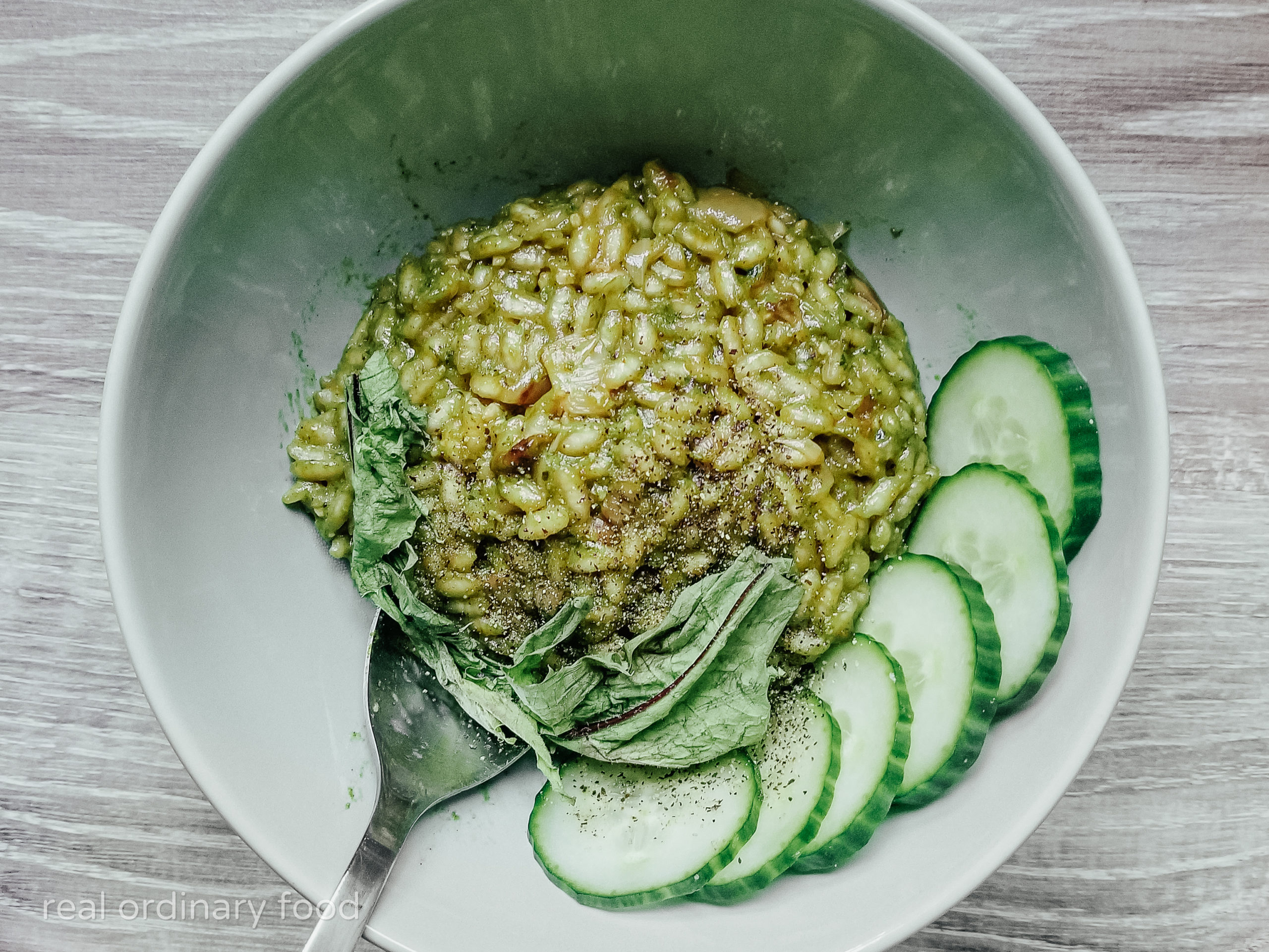 Cooking with White Wine: Dandelion Risotto Recipe