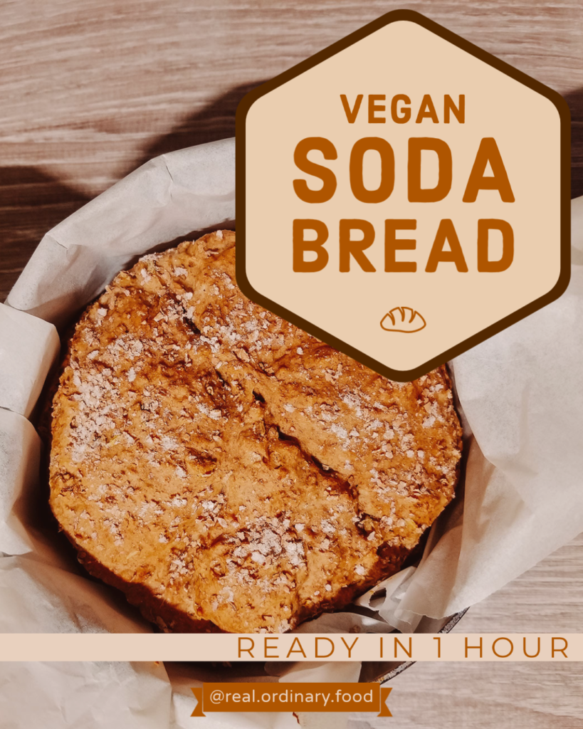 pinterest fennel seed vegan irish soda bread