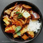 vegan jungle curry (kaeng pa) with no coconut milk
