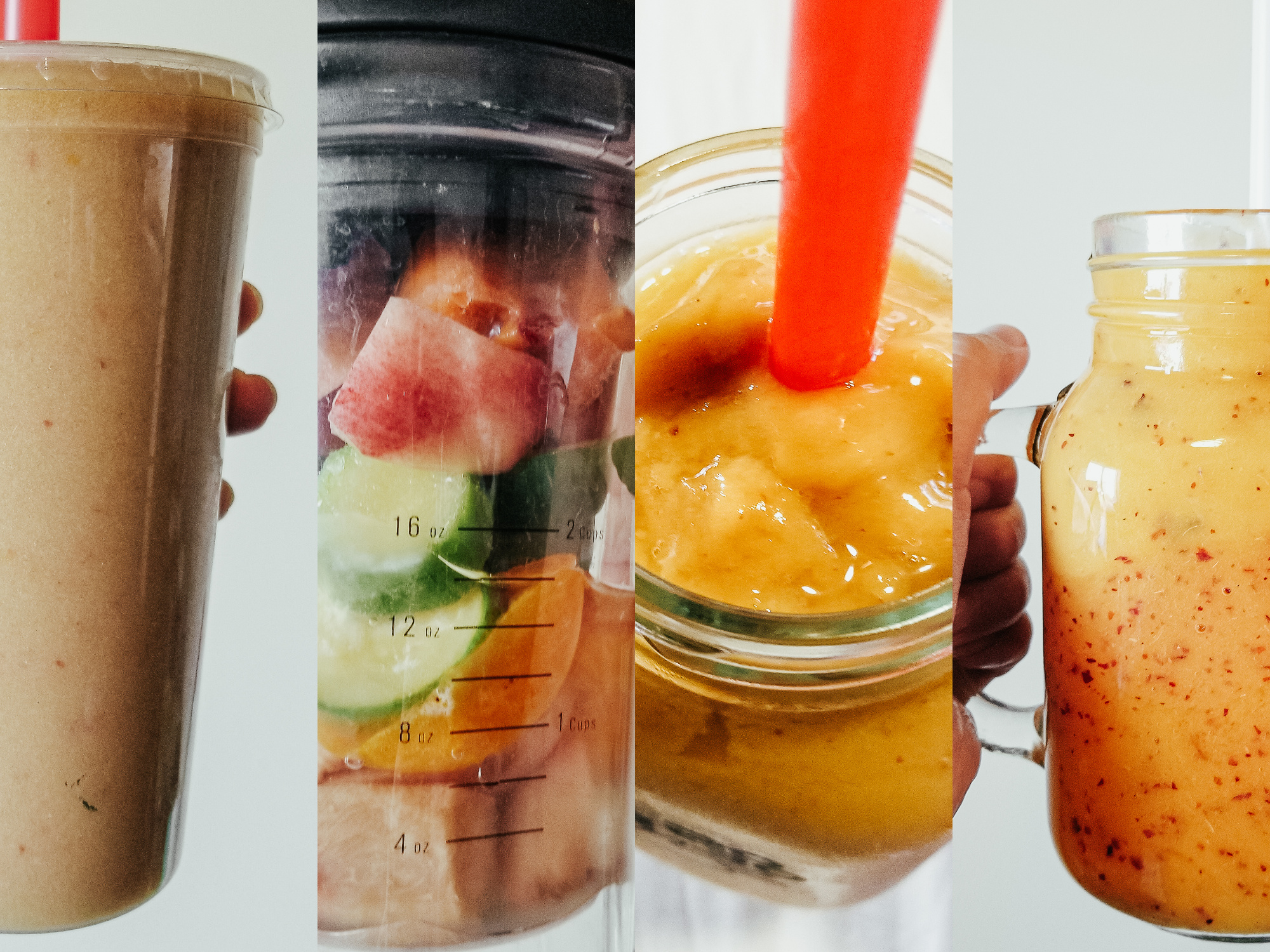 3 Refreshing Vegan Peach Smoothie Recipes