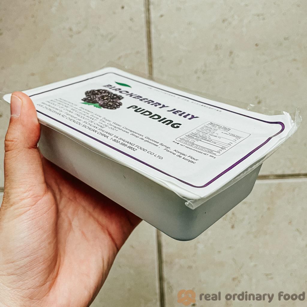 blackberry jelly pudding bait