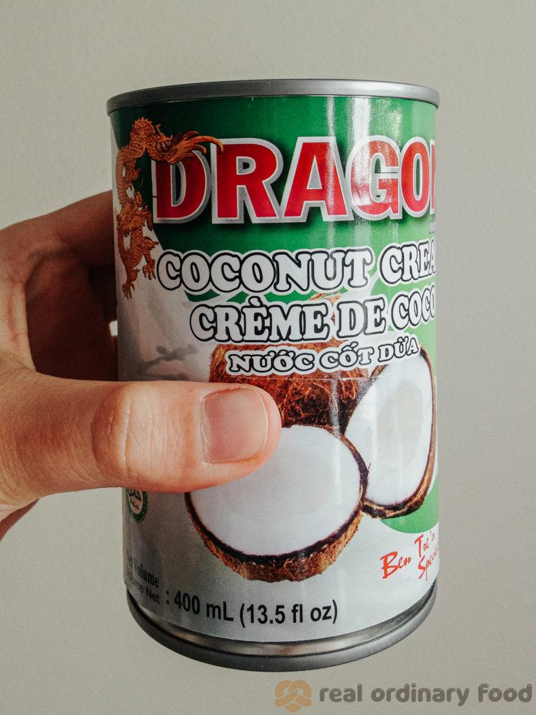 dragon brand coconut cream