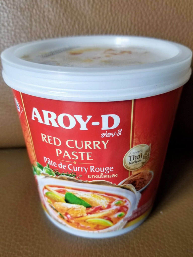 aroy d thai red curry paste