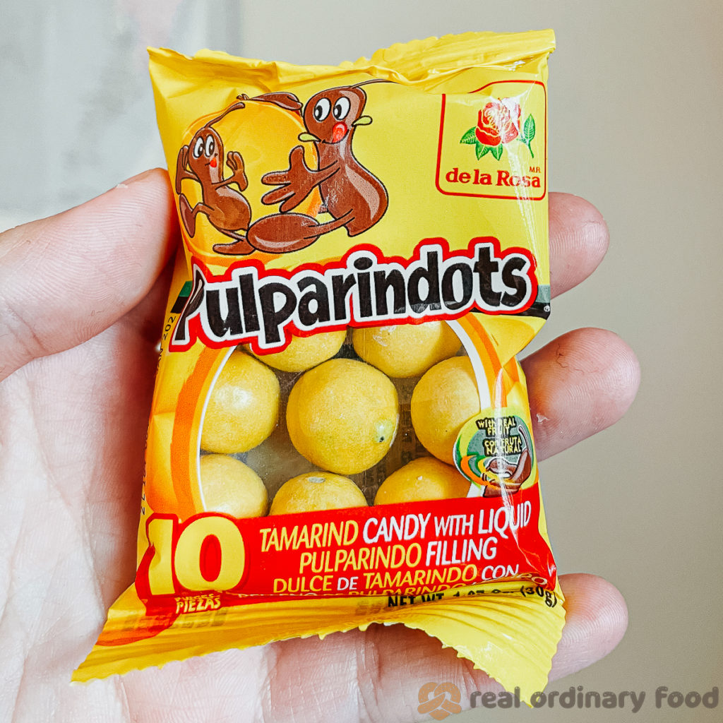 small package of pulparindots mexican candy