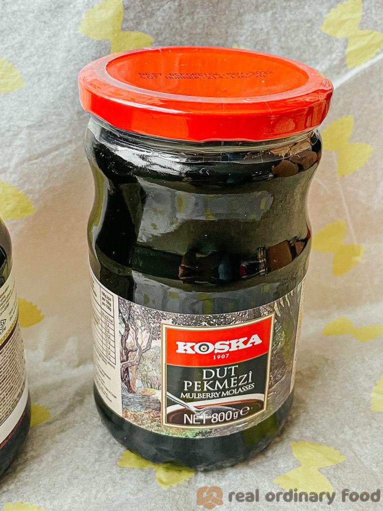 mulberry molasses (dut pekmezi)