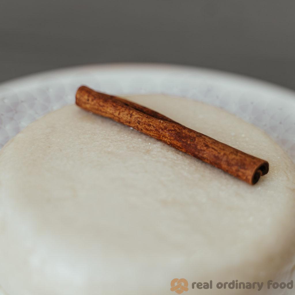 my attempt at a 10th-century mahalabia recipe