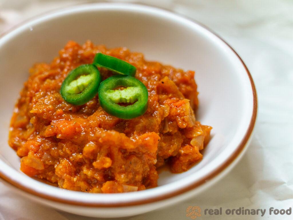 silsi eritrean tomato sauce