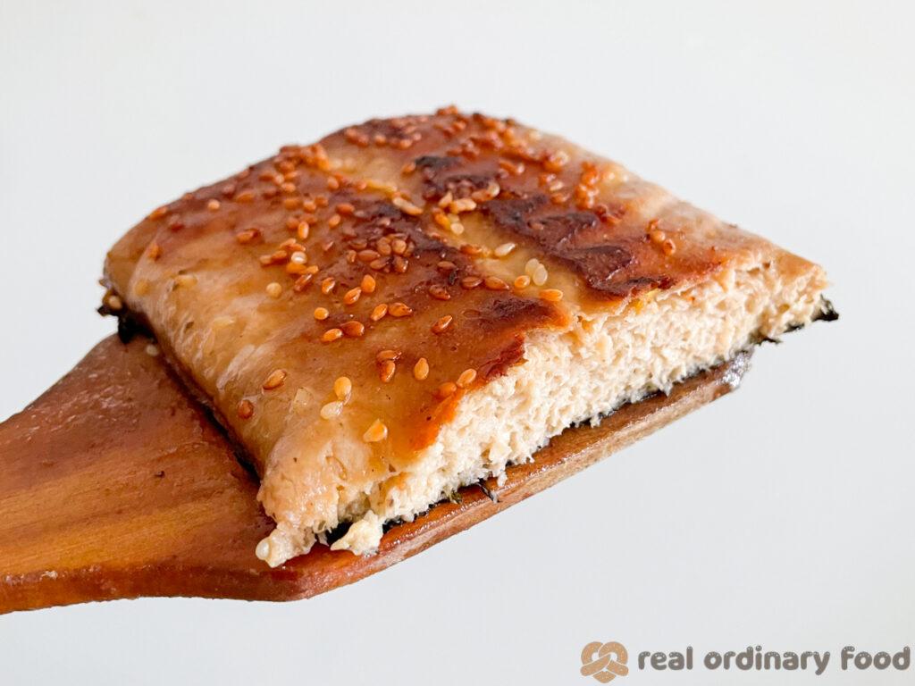 grilled vegan unagi
