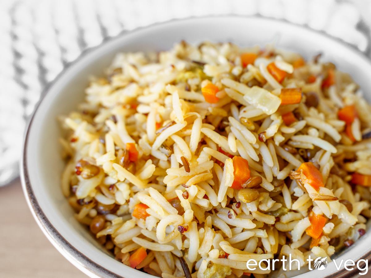 instant pot wild rice blend